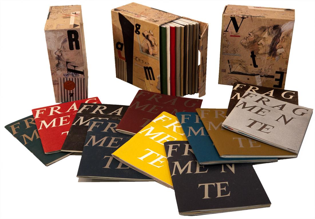 Der Schuber (Kassette) mit Tausend Seiten FRAGMENTE